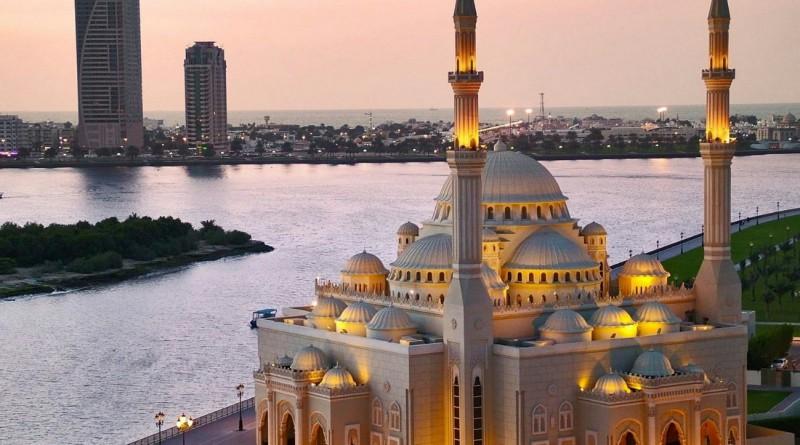 мечеть шейха в ОАЭ