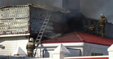 пожар в доме  батюшки