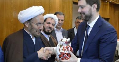 Баринов в Иране