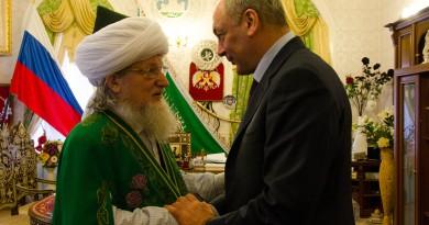 Талгат Таджуддин и М.Магомедов