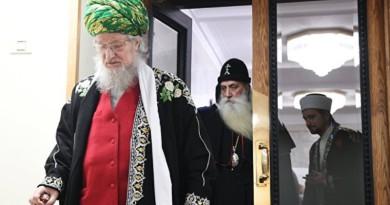 Верховный муфтий принял участие в Международных Рождественских образовательных чтениях